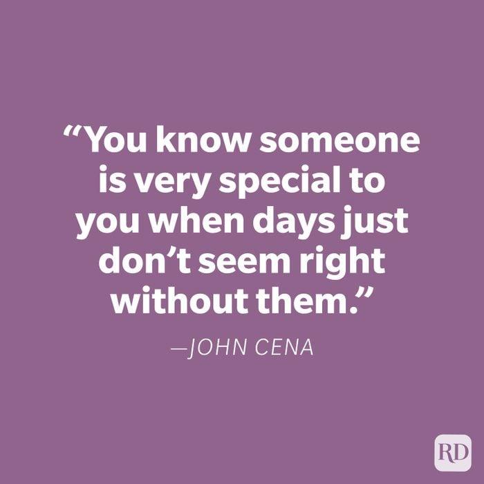 John Cena Miss You Quote