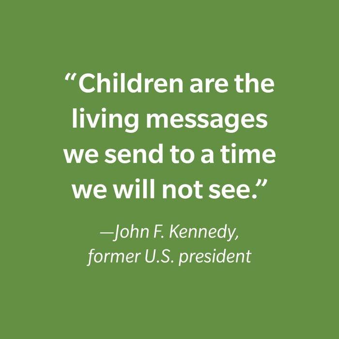 John F. Kennedy Inspiring Kids' Quotes
