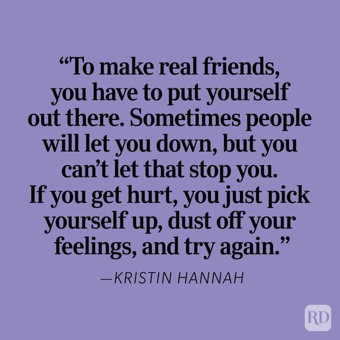 Kristin Hannah Heartbreak Quote