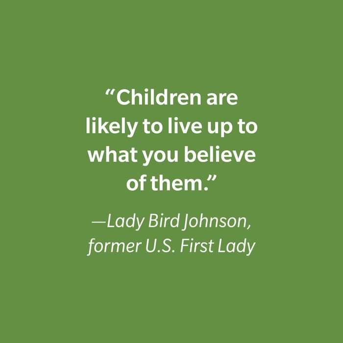 Lady Bird Johnson Inspiring Kids' Quotes
