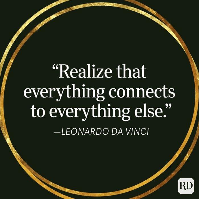 Leonardo Da Vinci Karma Quote
