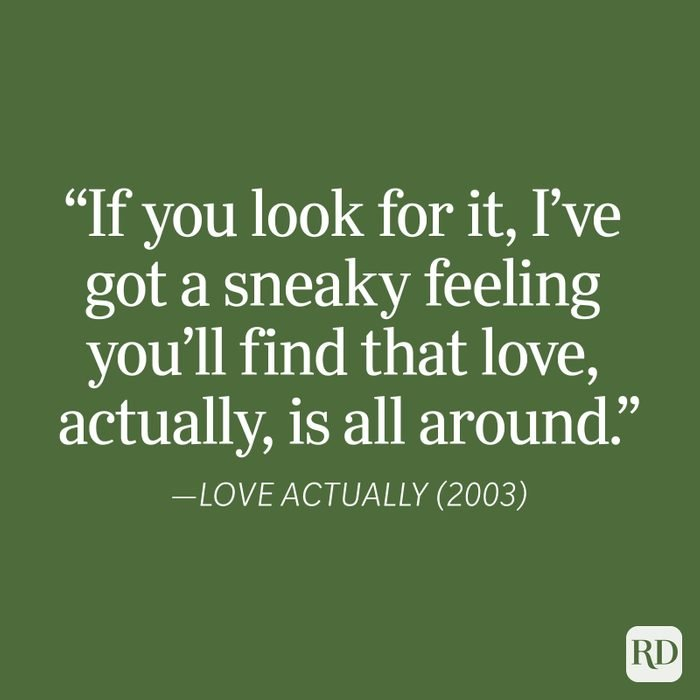 Love Actually Christmas Quote