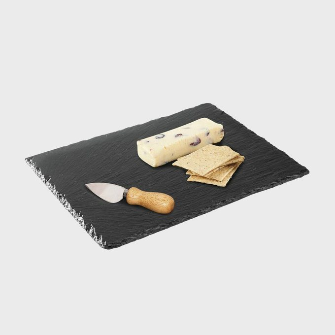 Mdesign Slate Stone Serving Tray Cheese Board (4 Pack)