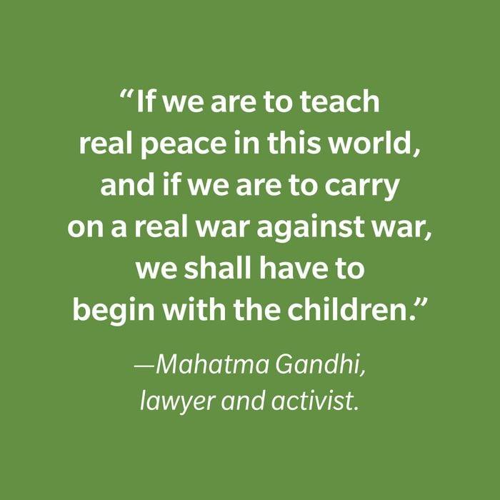 Mahatma Gandhi Inspiring Kids' Quotes