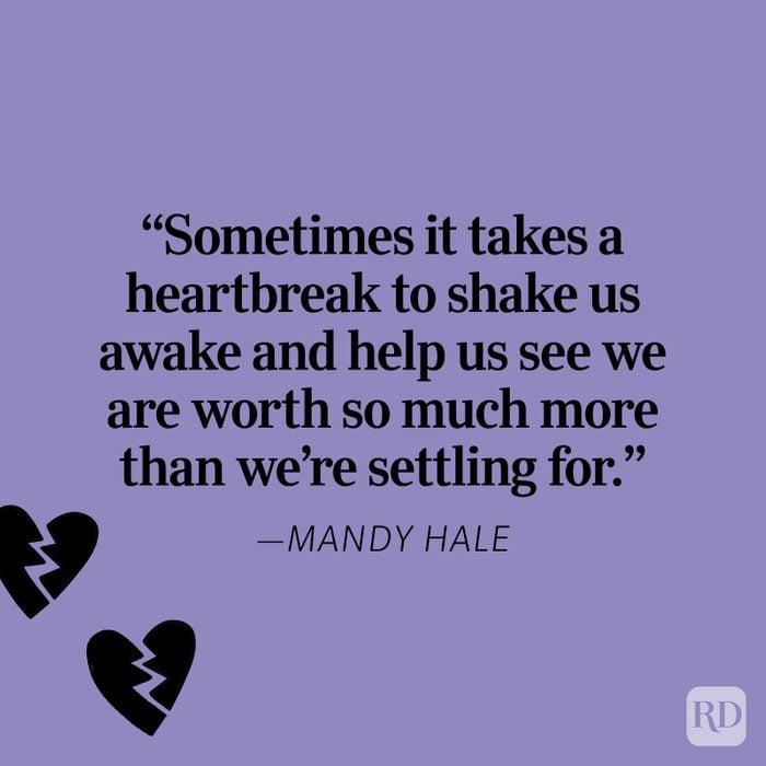 Mandy Hale Heartbreak Quote