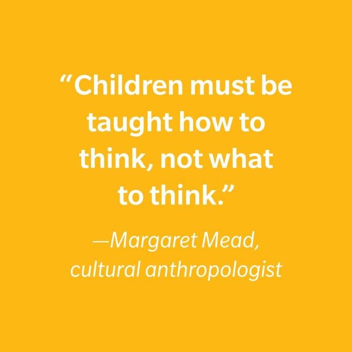 Margaret Mead Inspiring Kids' Quotes