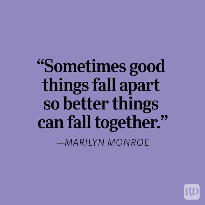 Marilyn Monroe Heartbreak Quote