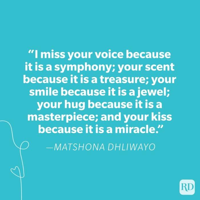 Matshona Dhliwayo Miss You Quote