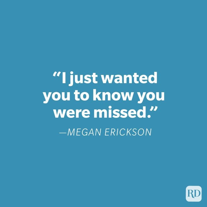 Megan Erickson Miss You Quote