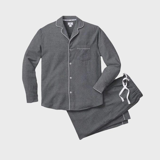 Men's Classic Flannel Pajama Set
