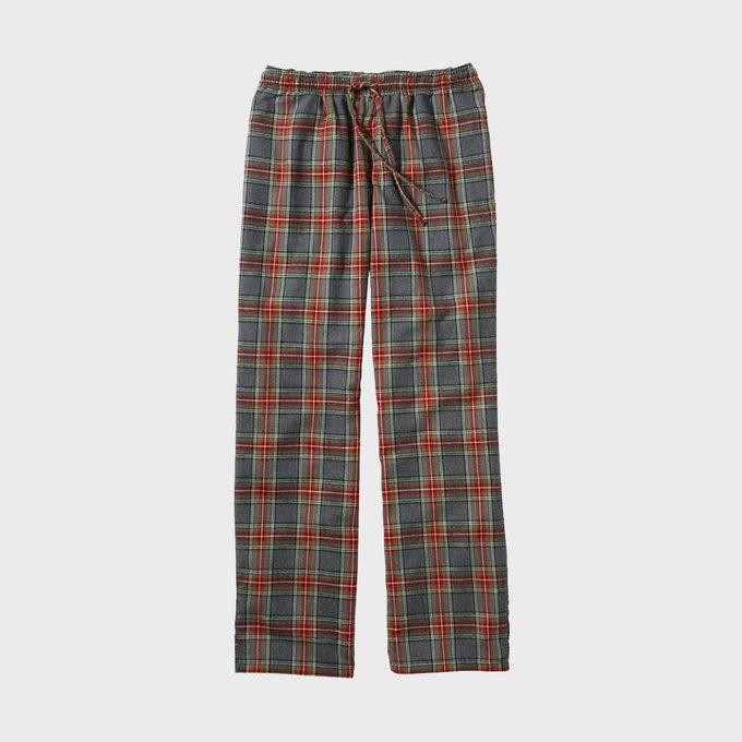 Men's Scotch Plaid Flannel Sleep Pants