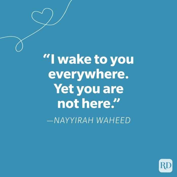 Nayyirah Waheed Miss You Quote