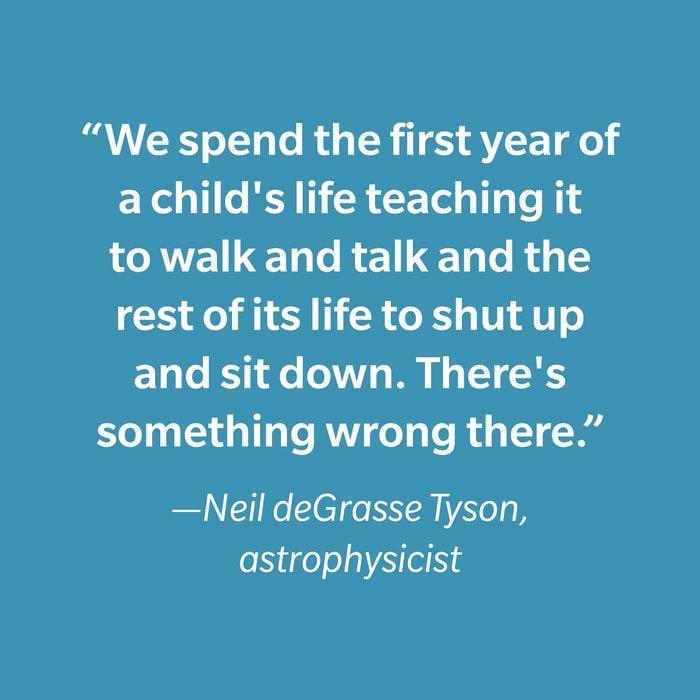 Neil Degrasse Tyson Inspiring Kids' Quotes