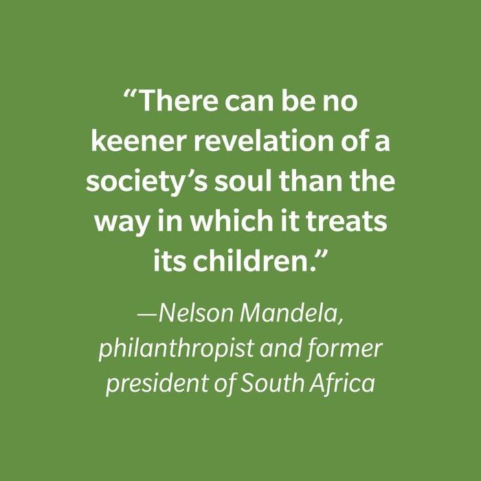 Nelson Mandela Inspiring Kids' Quotes 2