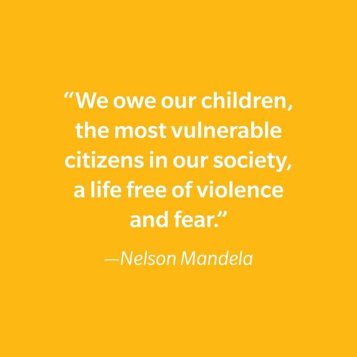 Nelson Mandela Inspiring Kids' Quotes