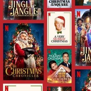 Netflix Christmas Movies Collage