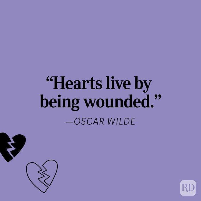 Oscar Wilde Heartbreak Quote