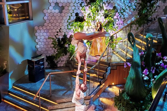 Performers At Eden On Celebrity Edge Cruise