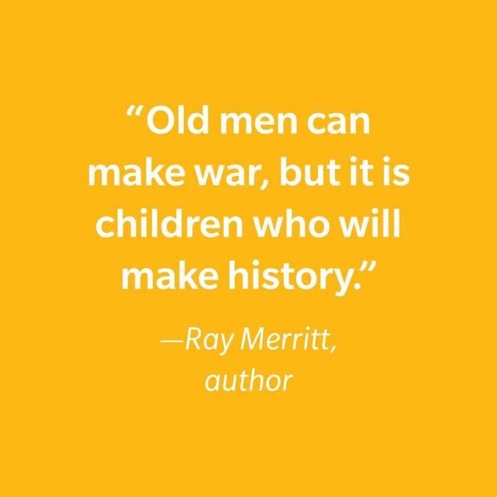 Ray Merritt Inspiring Kids' Quotes