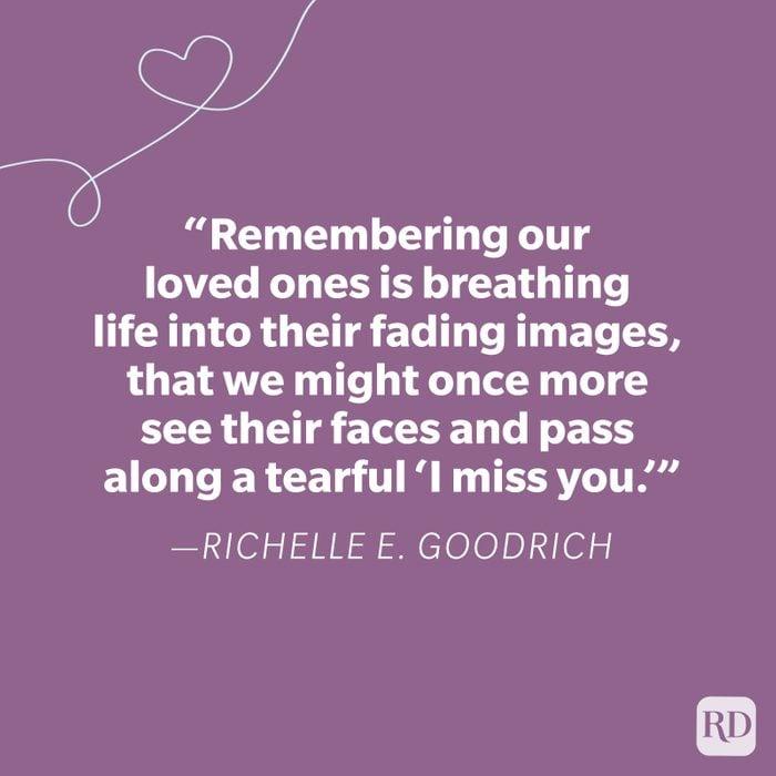 Richelle E Goodrich Miss You Quote