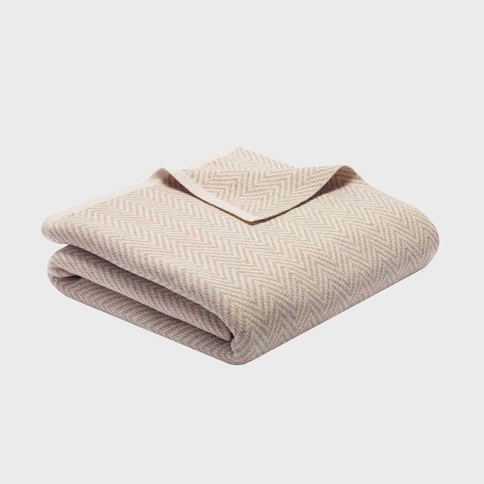 Riley Luxe Cashmere Wool Throw