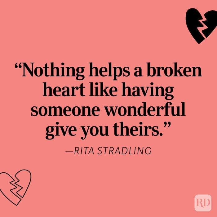 Rita Stradling Heartbreak Quote