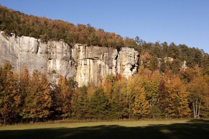 fall foliage in Jasper, Arkansas