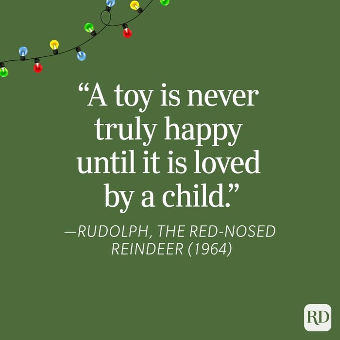 Rudolph Christmas Quote