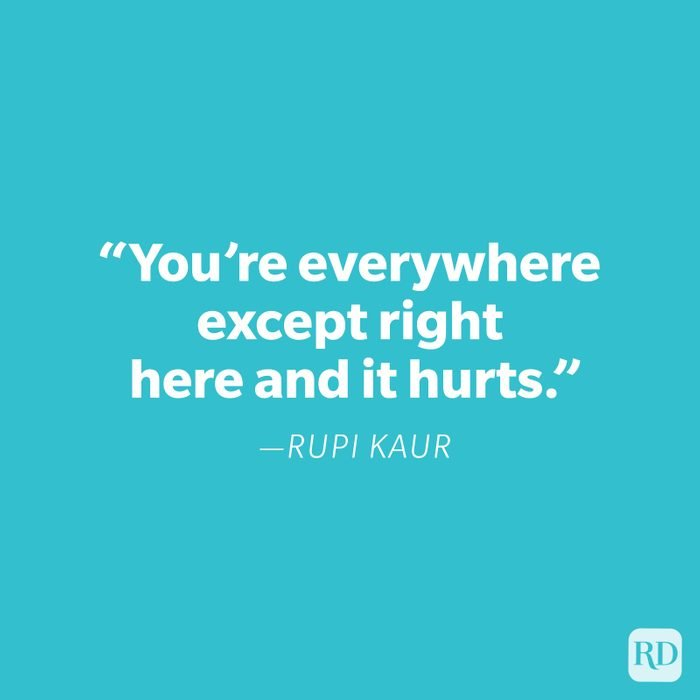 Rupi Kaur Miss You Quote