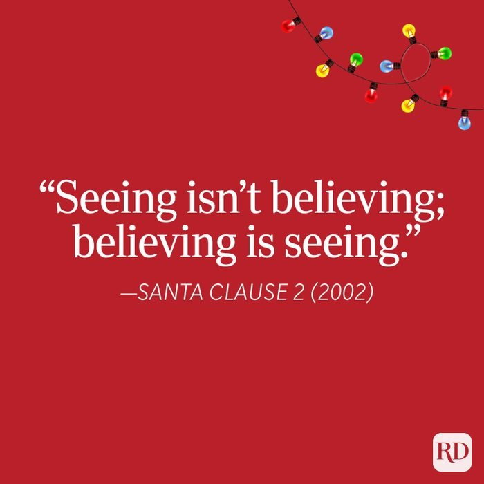 Santa Clause 2 Christmas Quote