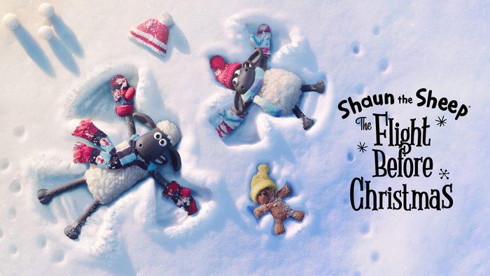 Shaun The Sheep The Flight Before Christmas