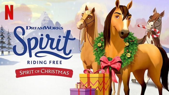 Spirit Riding Free Spirit Of Christmas