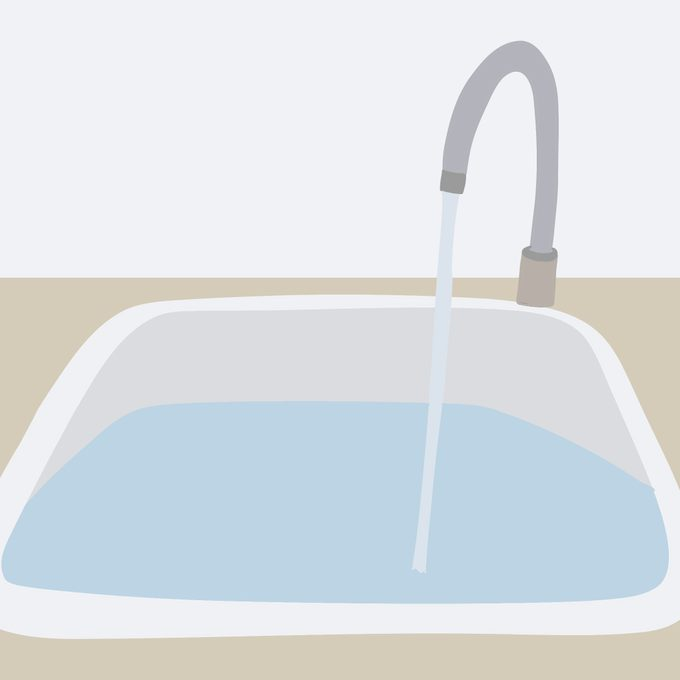 Step 1 Fill Sink