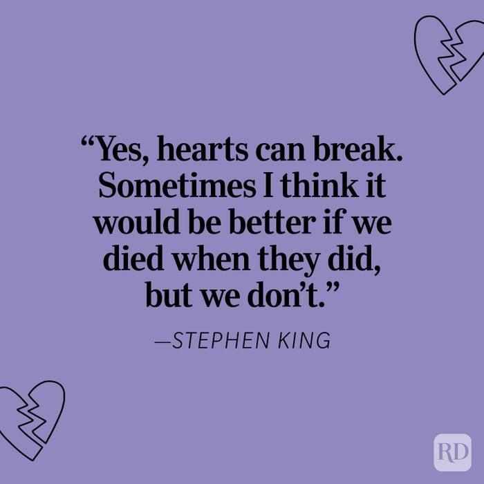 Stephen King Heartbreak Quote