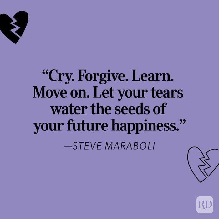 Steve Maraboli Heartbreak Quote