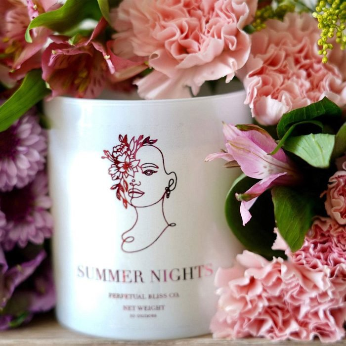 Summer Nights Scented Candle from Perpetual Bliss