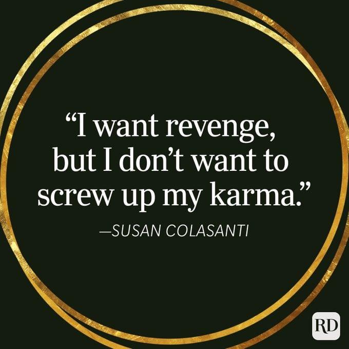 Susan Colasanti Karma Quote