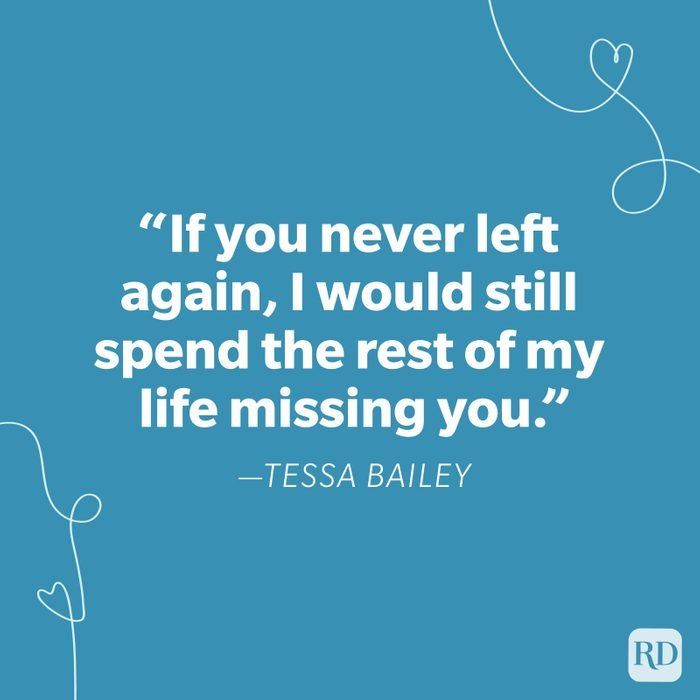 Tessa Bailey Miss You Quote
