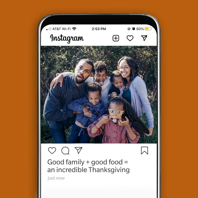 Thanksgiving Instagram Caption Good Family Good Food Incredible Thanksgiving