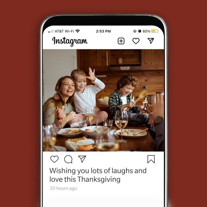 Thanksgiving Instagram Caption Wishing You Lots Of Laughs And Love This Thanksgiving