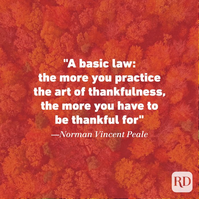 Thanksgiving Quote by Norman Vincent Peale