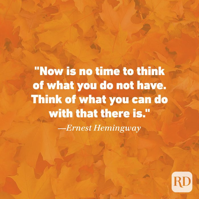 Thanksgiving Quote by Ernest Hemingway
