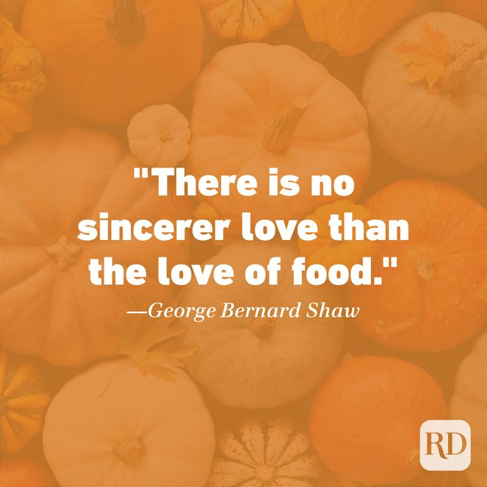 Thanksgiving Quote by George Bernard Shaw