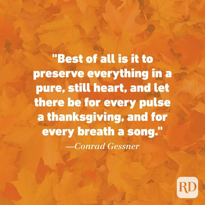 Thanksgiving Quote by Conrad Gessner