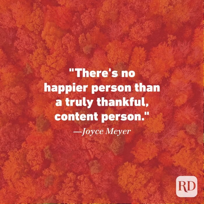 Thanksgiving Quote by Joyce Meyer
