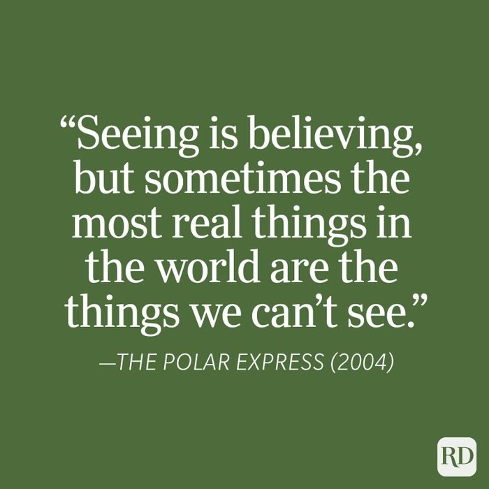 The Polar Express Christmas Quote