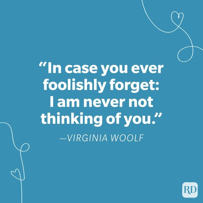 Virginia Woolf Miss You Quote