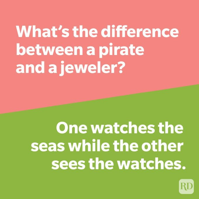Whats The Difference Joke Pirate Vs Jeweler