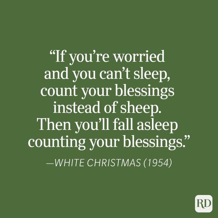 White Christmas Christmas Quote