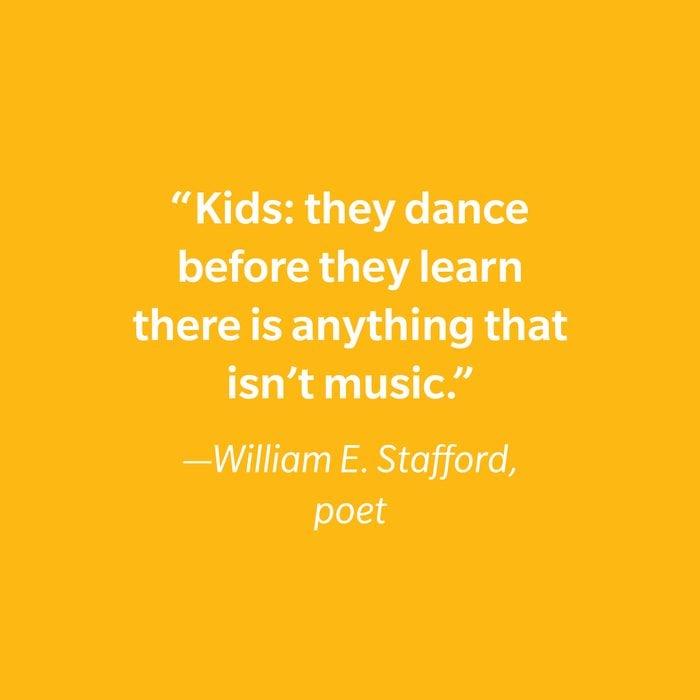 William E. Stafford Inspiring Kids' Quotes